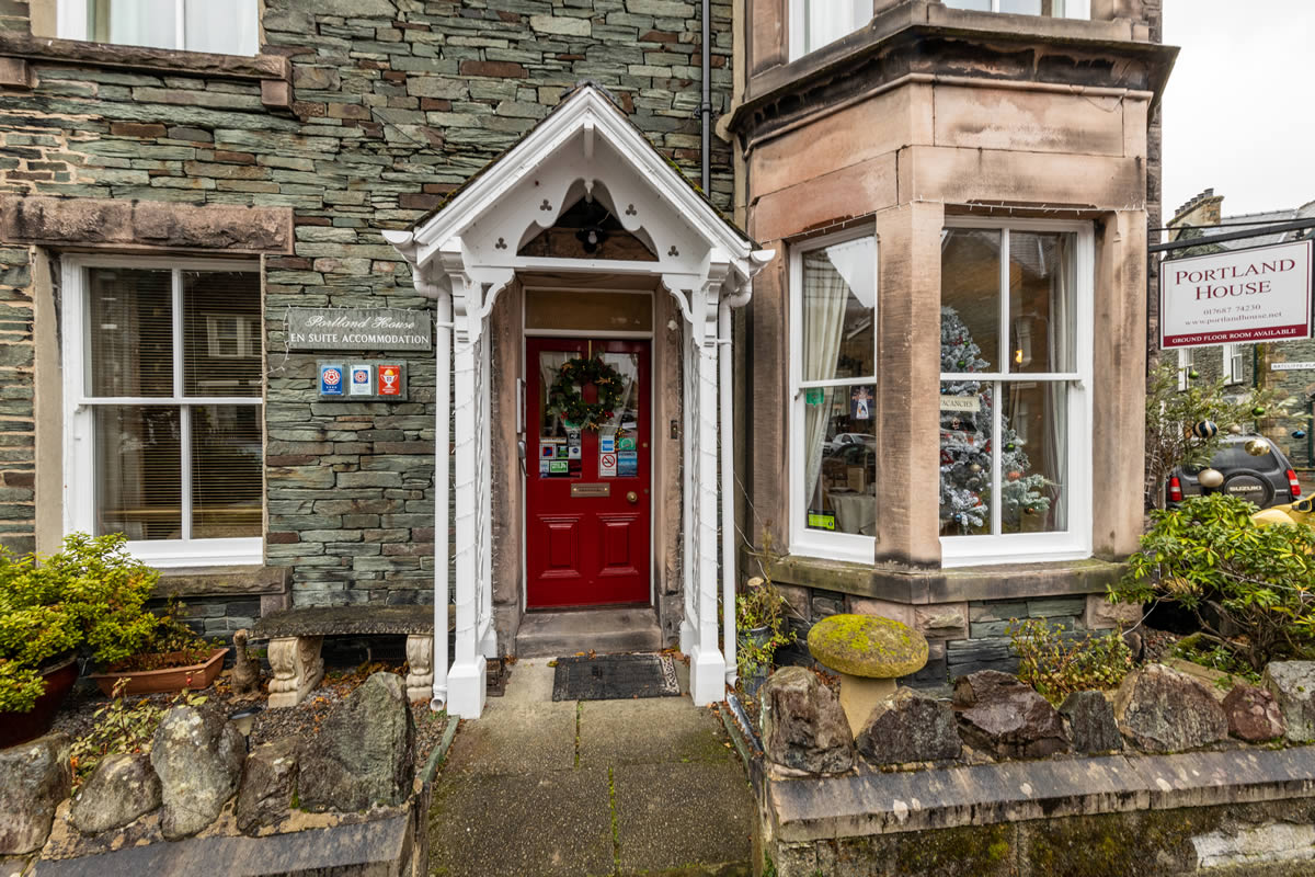 How to find Portland House B&B in Keswick